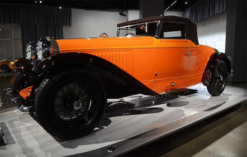 Petersen Automotive Museum Visited by Dr. Beasley's