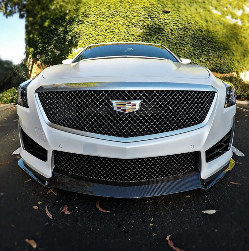 2017 Cadillac Cts V Driven: 2016 Cadillac CTS-V In MATTE WHITE?! You've Got To See This